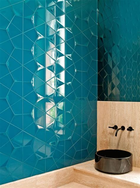 Badezimmer Fliesen Blau by Bathroom Wall Tiles Blue