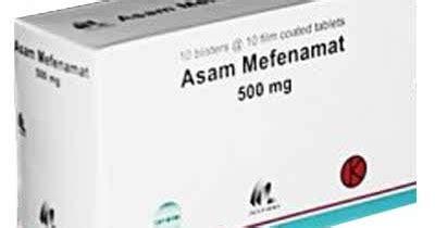 Obat Asam Mefenamat ilmu pengetahuan dan teknologi asam mefenamat