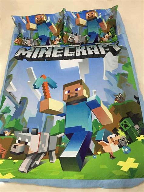 minecraft bedding set zspmed of minecraft bed set
