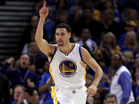 klay thompson this was klay thompson s trajectory all along thompson ii