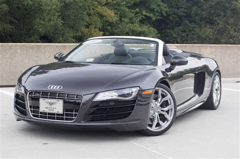 For Sale Audi R8 by 2011 Audi R8 5 2 Quattro Spyder Stock P002179 For Sale