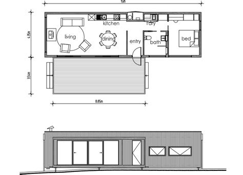 small the grid home plans house design plans