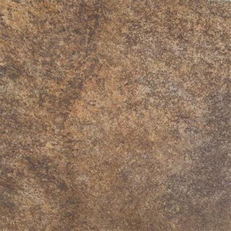 marazzi granite marron 12 in x 12 in glazed porcelain