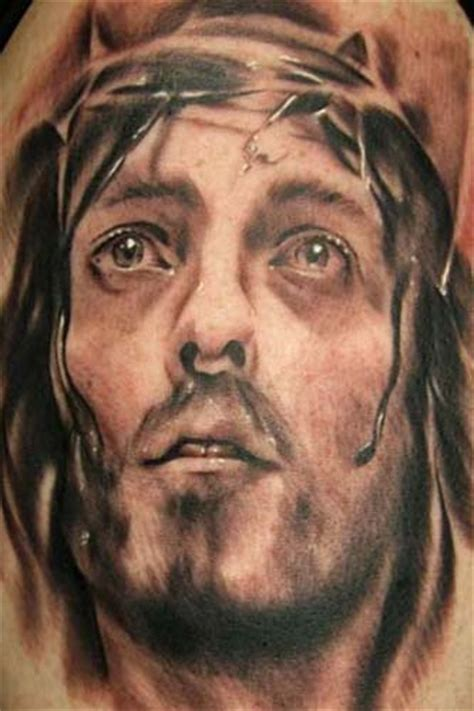 tattoo designs jesus face neck ideas jesus designs