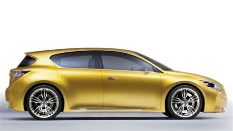 lexus small car lexus thinks big for small car
