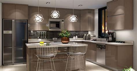 2016 american project high gloss pvc modular kitchen unit