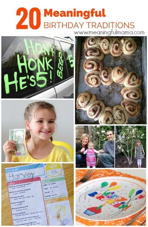 meaningful themes for events 20 meaningful birthday traditions