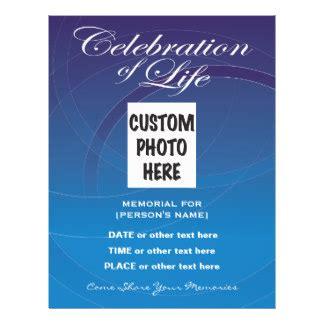 49 celebration of life flyers celebration of life flyer