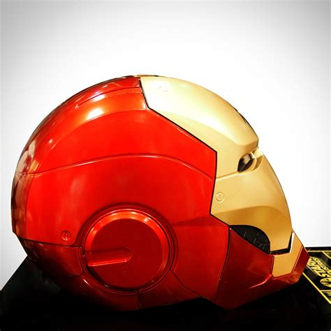 iron man helmet signed stan lee robert downey jr