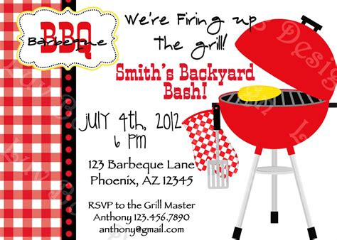 free printable birthday bbq invitations bbq for invitations clipart clipart suggest