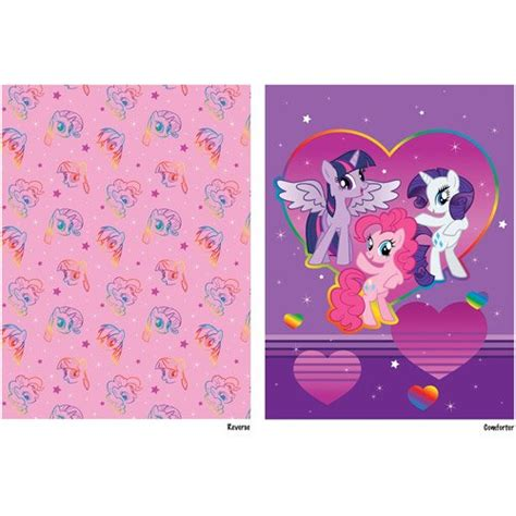 my little pony bedding twin my little pony 4pc twin comforter and sheet set bedding