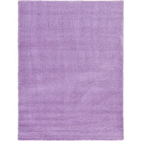 lilac area rugs unique loom solid shag lilac 8 ft x 11 ft area rug 3126220 the home depot