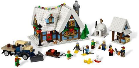 afficher le sujet 10229 winter village cottage