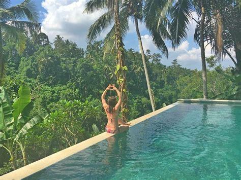 infinity pool bali bali ubud infinity pool top ubud hanging gardens resort