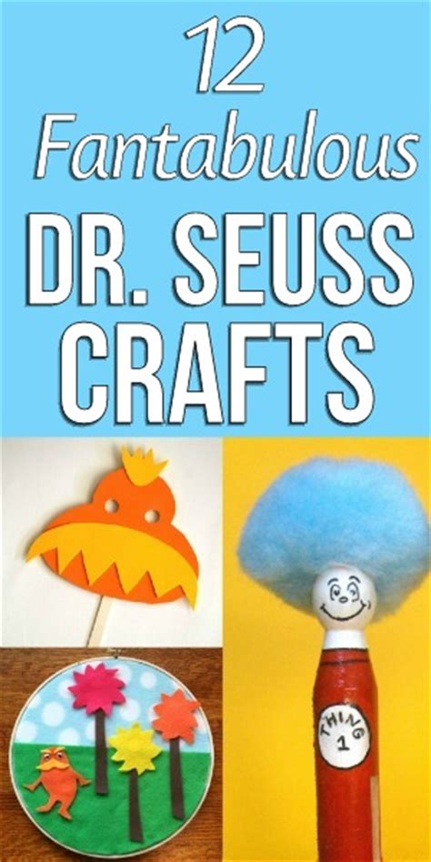 fantabulous dr seuss crafts blissfully domestic