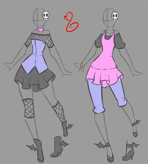fashion design base point commissions 11 2 by rika dono on deviantart