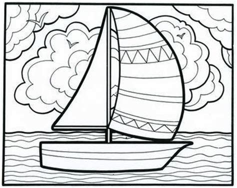 counting number color page coloring pages for kids