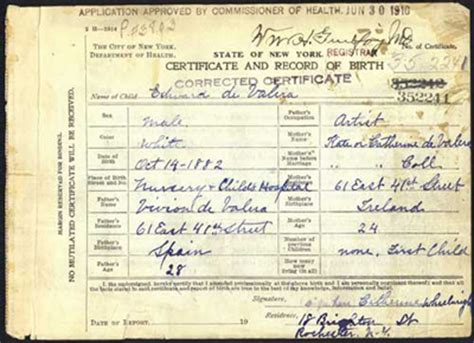 Greenville County Birth Records Historical Mysteries Eamon De Valera S Paternal Ancestry