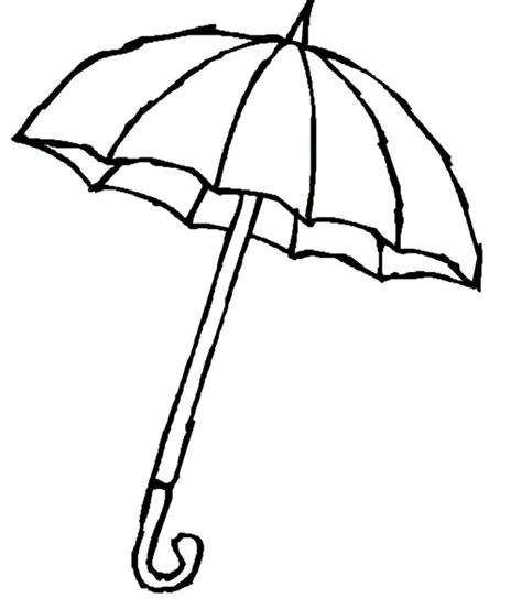 free printable coloring pages of umbrellas coloring worksheet on umbrella clipart best