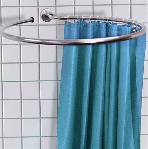 quarter round shower curtain rod shower curtain rods round home design ideas