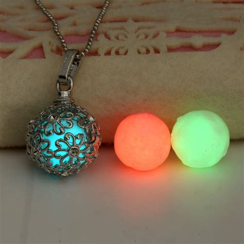 glow in the bead necklaces 1 necklace 3 luminous 2015 trendy glow in the