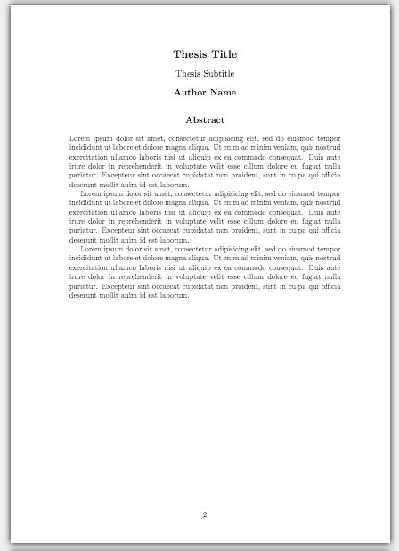 thesis abstract font size how to write a thesis in latex pt 5 customising your