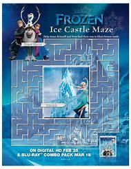 Frozen Disney Free Printable Maze