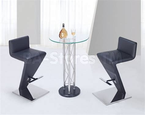 Unique Bar Tables And Stools by Modern 3 Pc Bar Set With Unique Bar Stool Modern