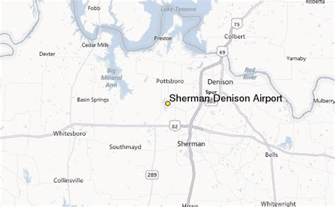 denison texas map sherman denison airport weather station record historical weather for sherman denison airport