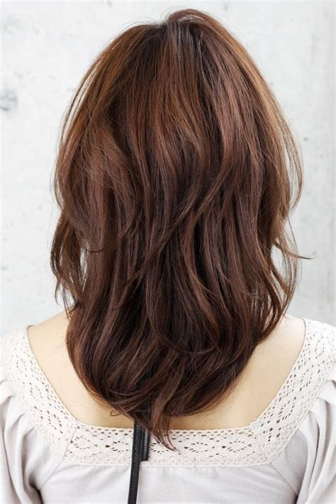 long hairstyles from behind long layered haircuts from behind shoulder length layered