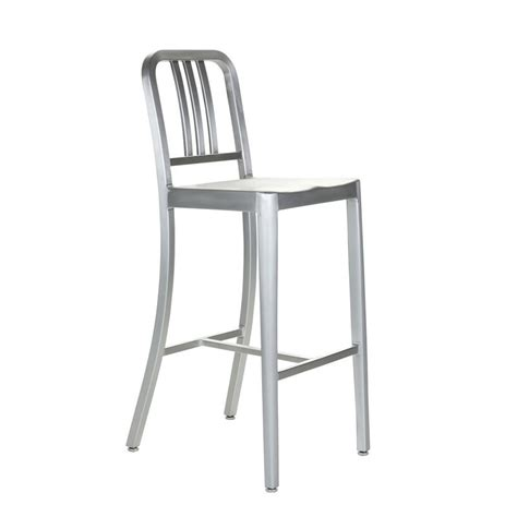 Navy Aluminum Bar Stools by Best Fashion Furniture Navy Chair Aluminum Stool