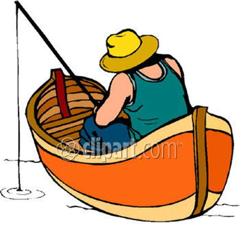 man fishing in boat clip art man fishing in boat clipart clipart panda free clipart