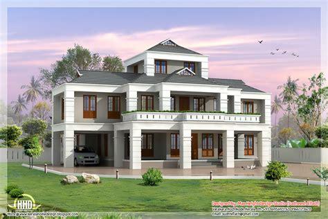 kerala home design villa awesome 5 bedroom villa design house design plans luxamcc