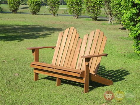 solid wood outdoor bench adirondack outdoor teak double bench with solid wood