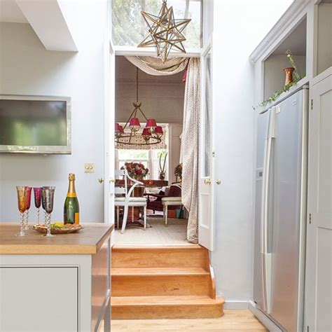 step inside this house kitchen and dining room steps festive west london home