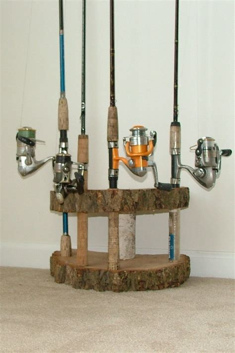 fishing decor for homes 1000 images about fishing rod holder on pinterest
