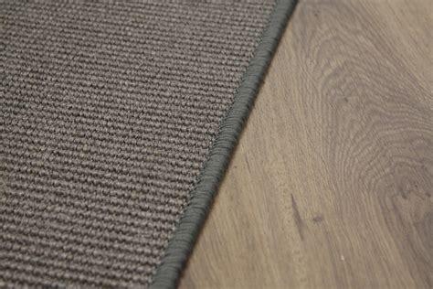 Sisal Teppiche by Sisal Teppich Umkettelt Grau 100x200cm 100 Sisal