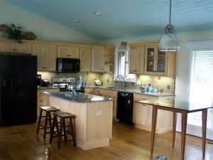 beautiful lake house kitchen renovation kitchens maple pinterest cabin doors open floor plans