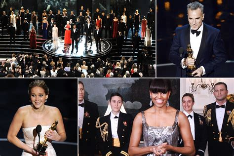 2013 oscar best best 2013 oscar moments carpet hathaway more