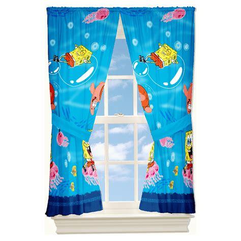 spongebob curtains spongebob squarepants bedroom curtains