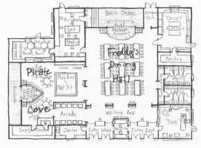 Pizza Shop Floor Plan by Freddy Fazbear Pizza Map Images