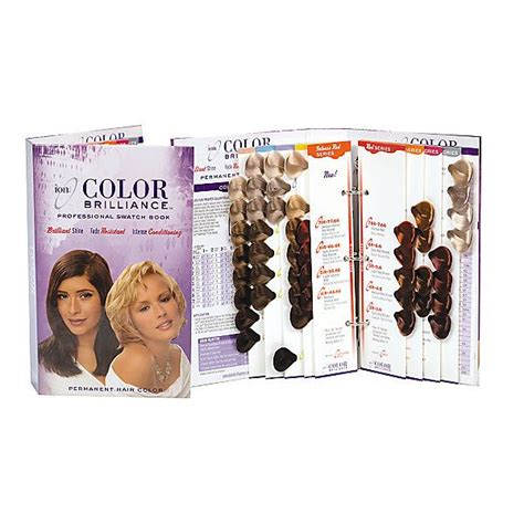 ion brilliance hair color chart permanent hair color swatch book hair color swatches