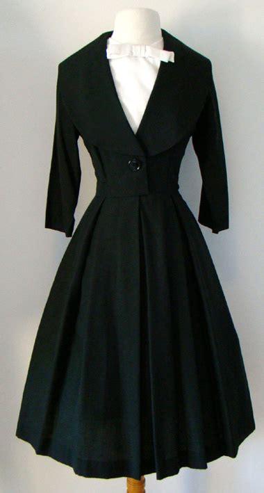 vintage 1950 s dresses black 50 s dress proper vintage