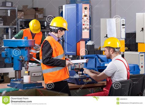 Production Worker by Production Worker With Stock Photo Image 40563613
