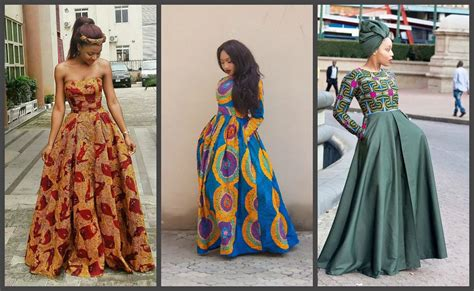 latest ankara gowns latest ankara long gown styles 2017 the african hub