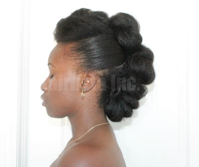 bridal hairstyles for relaxed hair my quot teyonah parris up do quot on relaxed hair hairlicious inc