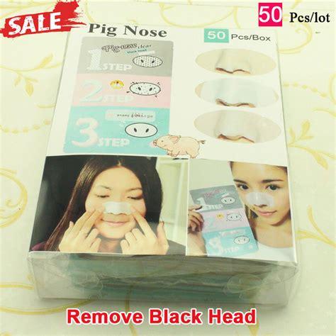 Holika Holika Nose Blackhead Remove 3 Steps Masker Hidung aliexpress buy 50pcs holika holika pig nose remove
