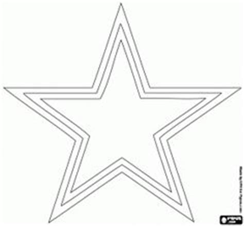 cowboys star coloring page free template stencil houston texans nfl templates
