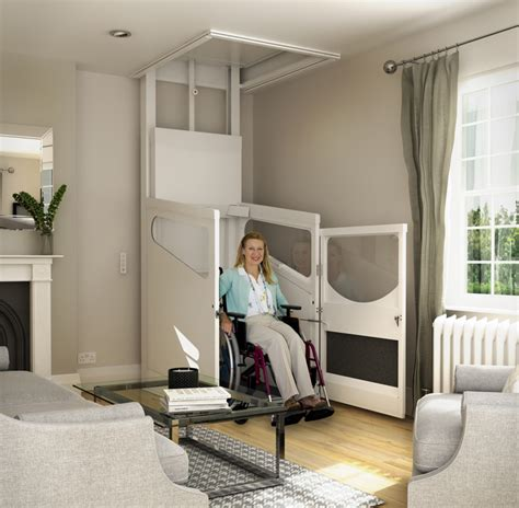 floor to your home unenclosed wheelchair through floor lift gt harmony