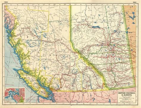 Canada West Columbia Alberta Plan